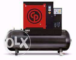 Screw Air Compressor with Dryer Chicago Pneumatic -Italy