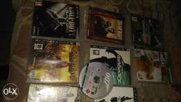 Ps3 cds n accessories