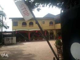 A Functional Hotel For Sale,at Textile Mill road,off Ugbowo,Benin-City