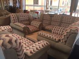 sofar set made in turkey 7 seater brand new