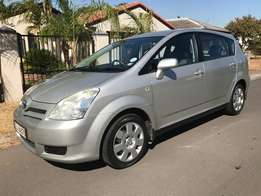 2007 Toyota Verso with Low Km