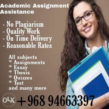 Assignment Assistance at very Reasonable Rates
