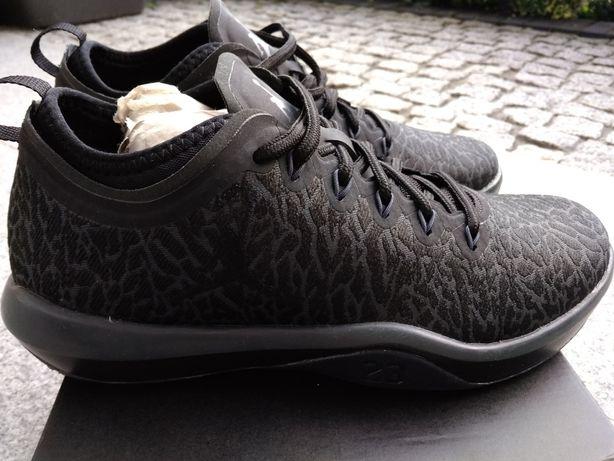 Czarne skórzane buty Nike Jordan Bochnia • OLX.pl