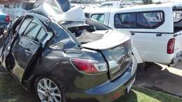 2012 mazda 3 1.6 dynamic stripping for spares