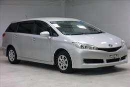 toyota wish valvematic choice of three.
