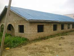 10 Rooms Bungalow For Sale at Ayekale area, Osogbo