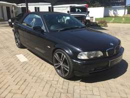 2003 bmw 3 series 330i convertible automatic,full service history,acci