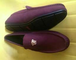 VERSACE Loafers Shoe Purple.