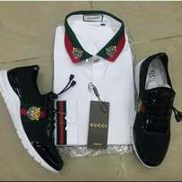 Gucci sneakers & cloth