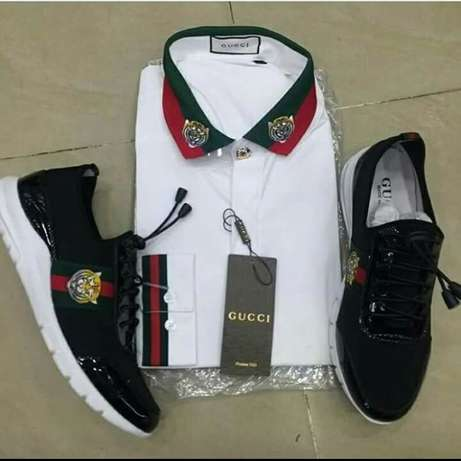 Gucci sneakers & cloth Lagos Island East - image 1