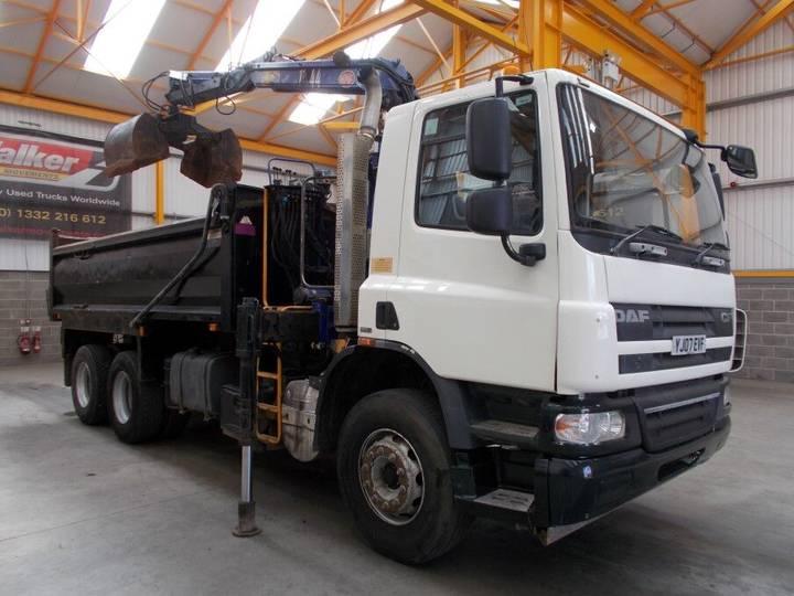 DAF CF75-310 6 X 4 TIPPER GRAB - 2007 - YJ07 EVF - 2007