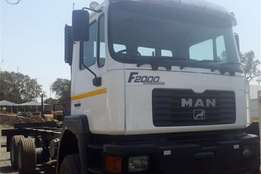 MAN 33-374 6x6 Truck Tractor