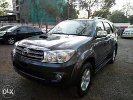 Toyota Fortuner Diesel Automatic 2010. Choice of several units.