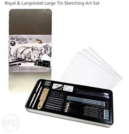 Large Sketching Art Set