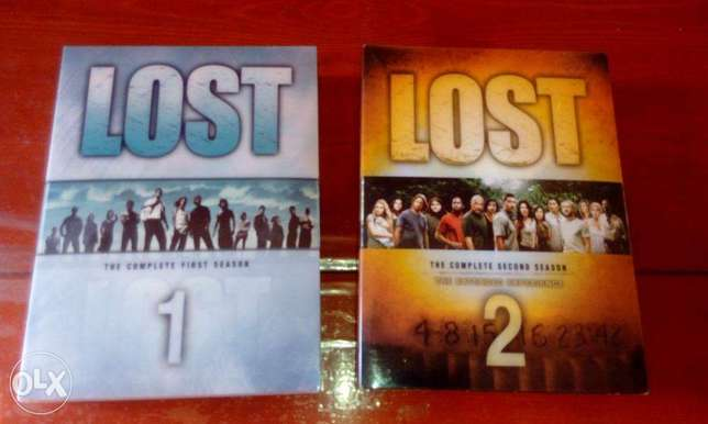 Lost series original dvds season 1 and 2