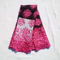 Fuchsia Pink Flavoured Sample Lace - 4 Yards