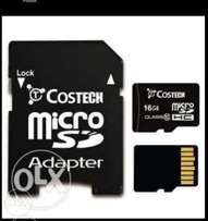 16gig memory card for sale