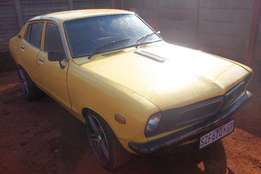 Datsun.140-Y.With a Twin Cam Toyota engine.