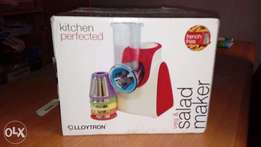 Lloytron Electric Salad Maker And Multi-Chopper (NEW)
