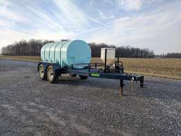 Schaben 2010 gallon nurse tank trailer agriculture sprayer nurse tank