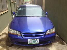 Registered 2000 honda accord, fabric, ac, auto gear