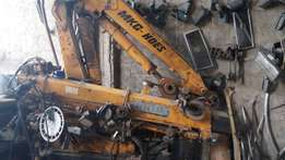 5.5 Tonne Hydraulic Crane for sale with Boom