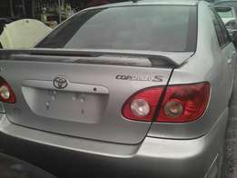 Tokunbo Toyota Corolla sport just arrived