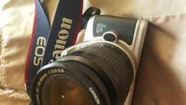 Canon E0S 500N (Film) and a Canon zoom Lens EF 28-80mm