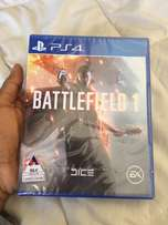 battlefield 1 for ps4 sealed and new