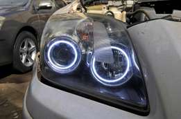 Double LED Angel eye rings:For Toyota,landrover,subaru,nissan,BMW:8500