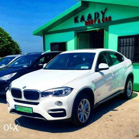 BMW X6 2017 for RENT