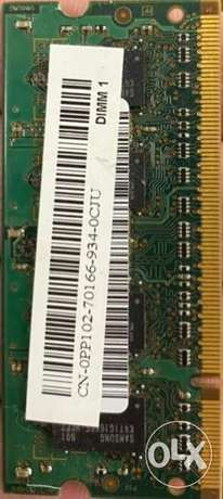 1GB Ram DDR2 for Laptop for sale