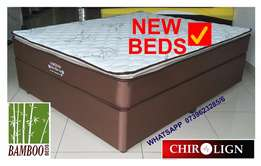 New Queen Orthopedic Bamboo Pillow Top Bed Reduced Save R1000 NowR2499
