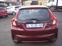 Honda Jazz i-vtec Manual Maroon colour