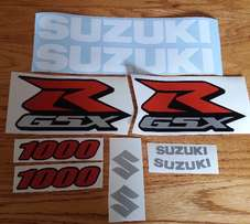 G.S.X.R decals graphics for all models