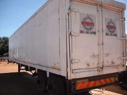 double axle closed body afrit make contact me for more info