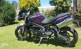Immaculate Triumph 675 Street Triple