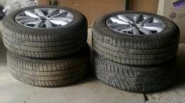 polo rims and tyres for sale