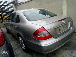 2007 Mercedes Benz E350 with accident free and full duty paid for sale