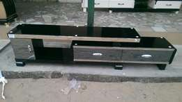 Mirro front adjustable tv stand