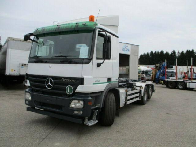 Mercedes-Benz Actros 2541 L/6x2, Multilift Schub Knick Haken! - 2008