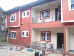 Bran new 2bedroom with federal light At Peter Odili PH