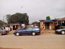 Land fenced with gate and registered for sale urgently.