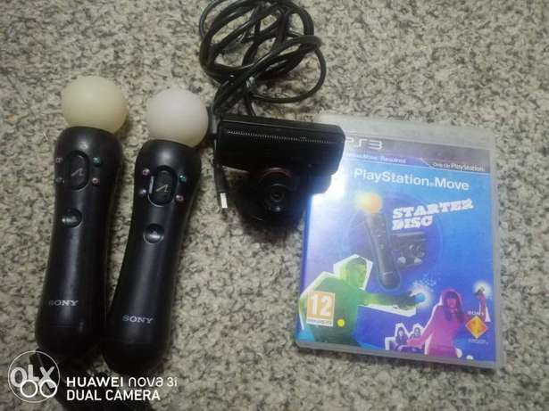 PS3 motion Controller, PS3 Kinnect+ Game for sale Urgent