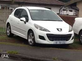 R 69900 for a 2010 peugoet 207 1.6vti (full house)