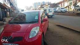 Toyota vitz red in colour
