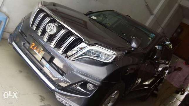 Toyota Prado TX newshape Gray metallic colour fully loaded Mombasa Island - image 8