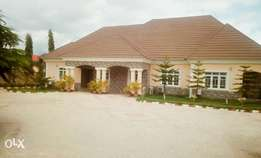 A newly built four bedroom bungalow with bq at kapwa lugbe
