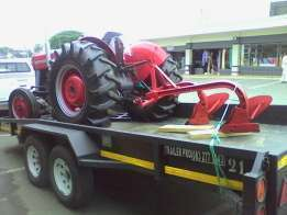 Tractor transport is our business