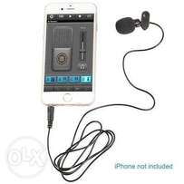 3.5mm Hands Free interview Clip on Mini Lapel Microphone